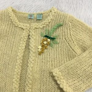 Anthropologie HWR knitted cardigan sweater